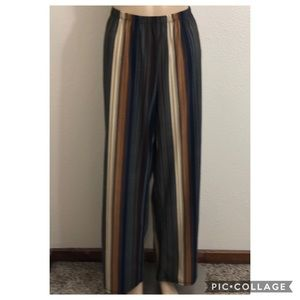 3/$25 Melissa Paige BOHO Striped Pants
